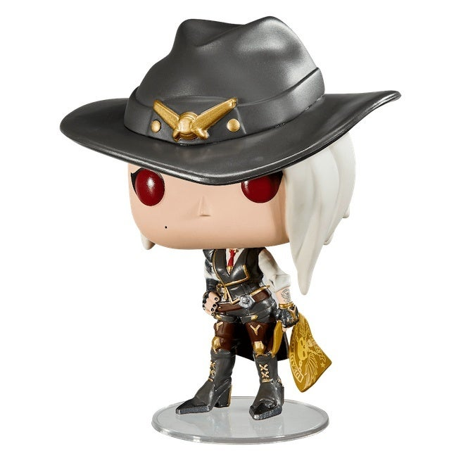Overwatch S New Hero Ashe Getting A Funko Pop Release