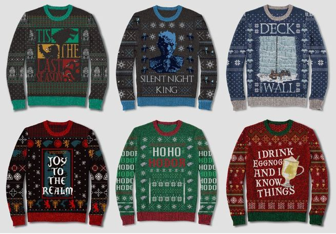 Targets Game Of Thrones Ugly Christmas Sweaters Are Super Affordable