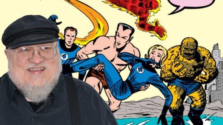 George RR Martin Fantastic Four comicbookcom