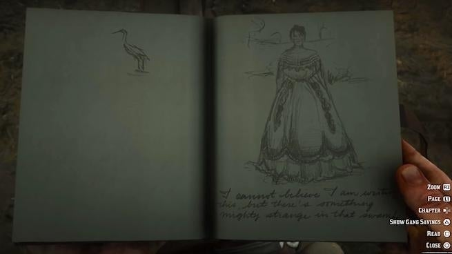 Red Dead Redemption 2': How To Find The Ghost Girl of Lemoyne