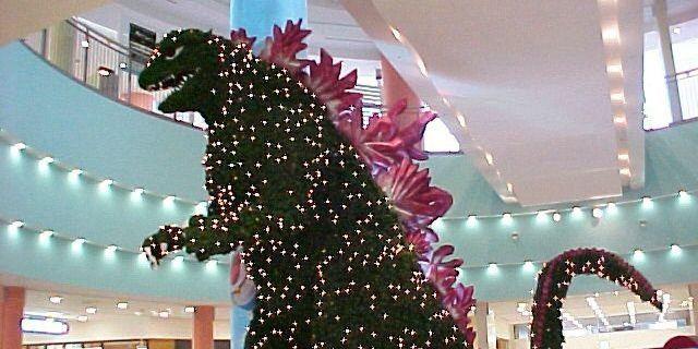 Godzilla-Christmas-Tree