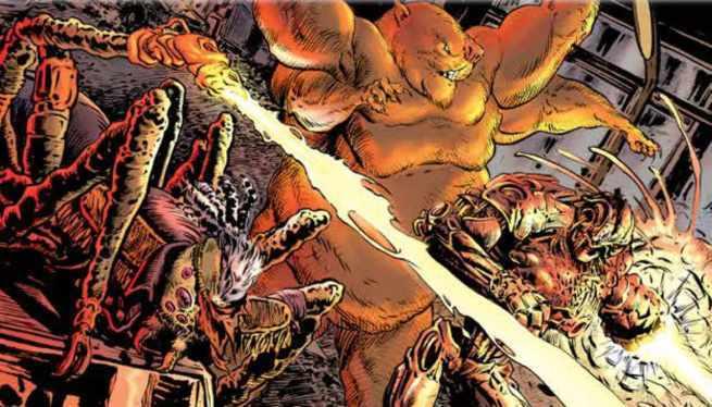 Grant Morrison Green Lantern - Bad Guys