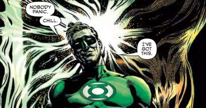 Grant Morrison Green Lantern - Chill