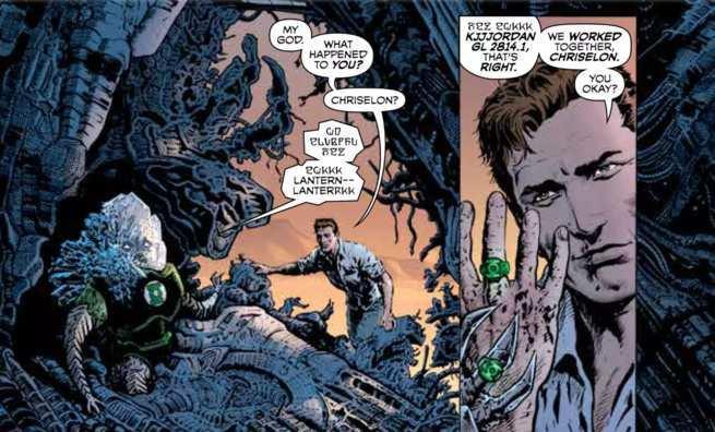 Grant Morrison Green Lantern - Chriselon