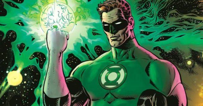 Grant Morrison Green Lantern - Cover