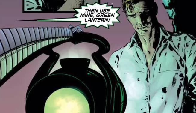 Grant Morrison Green Lantern - Massive Corps