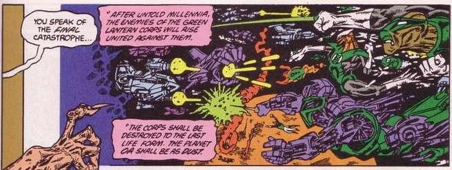Grant Morrison Green Lantern - Moore Prophecy