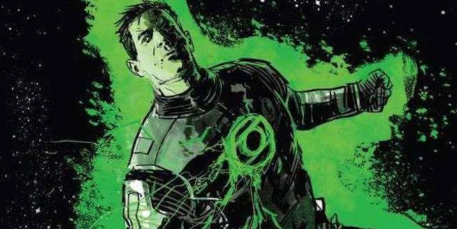 Grant Morrison Green Lantern - Science Fiction
