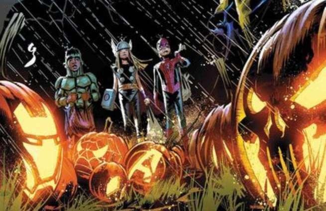Halloween Comics - Avengers Halloween Special