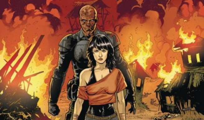Halloween Comics - Crossed Plus One Hundred Mimic