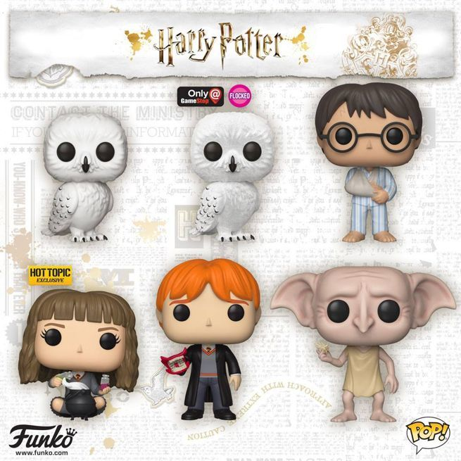 Funko's New 'Harry Potter' Pop Figures Have Howlers, Owls, Dogs, and Dobbys