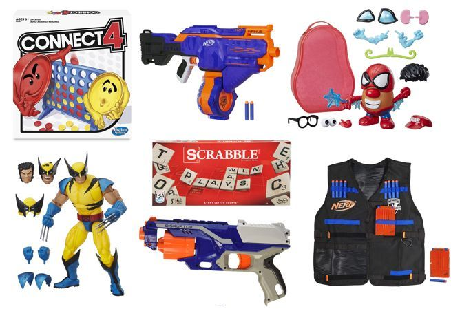 Amazon's Hasbro Sale is Loaded With Nerf Blasters, Board Games, and Wolverine