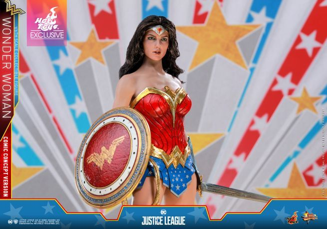 Hot Toys - Justice League - Wonder Woman (Comic Concept Version) collectible figure_PR2