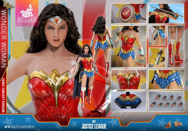 Hot Toys - Justice League - Wonder Woman (Comic Concept Version) collectible figure_PR27