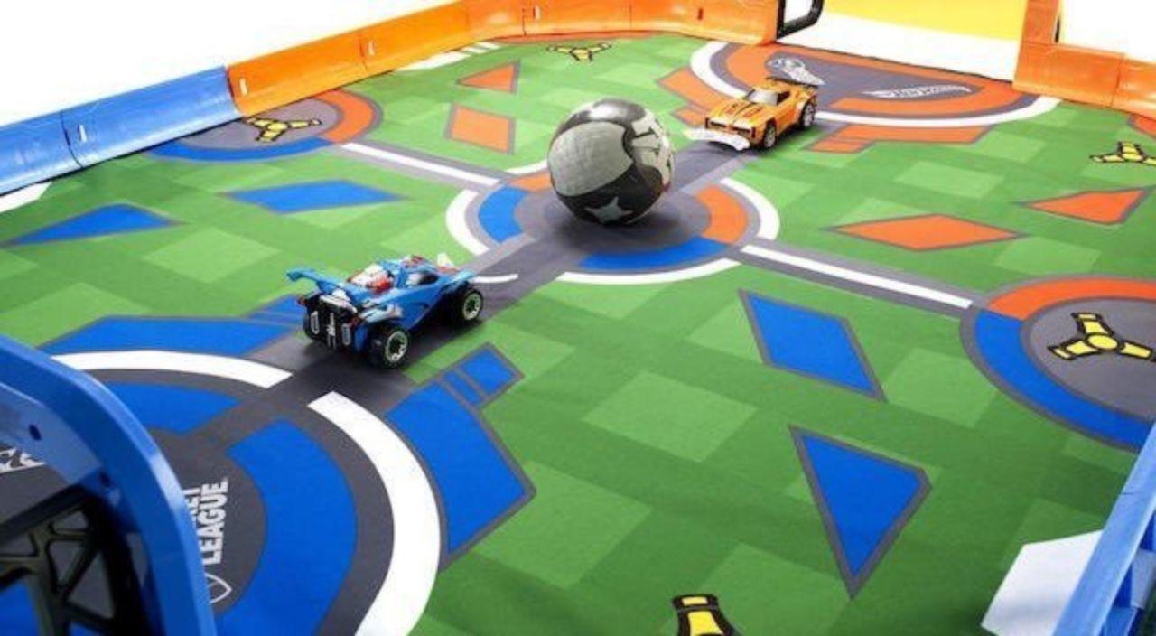 'Rocket League' Hot Wheels RC Rivals Stadium Set is Available Now