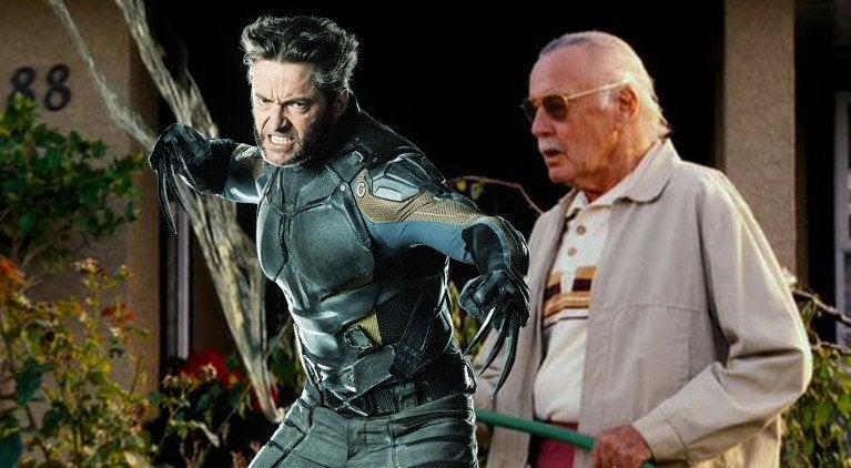 Hugh Jackman Stan Lee