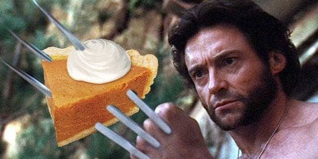 hugh jackman wolverine pumpkin pie
