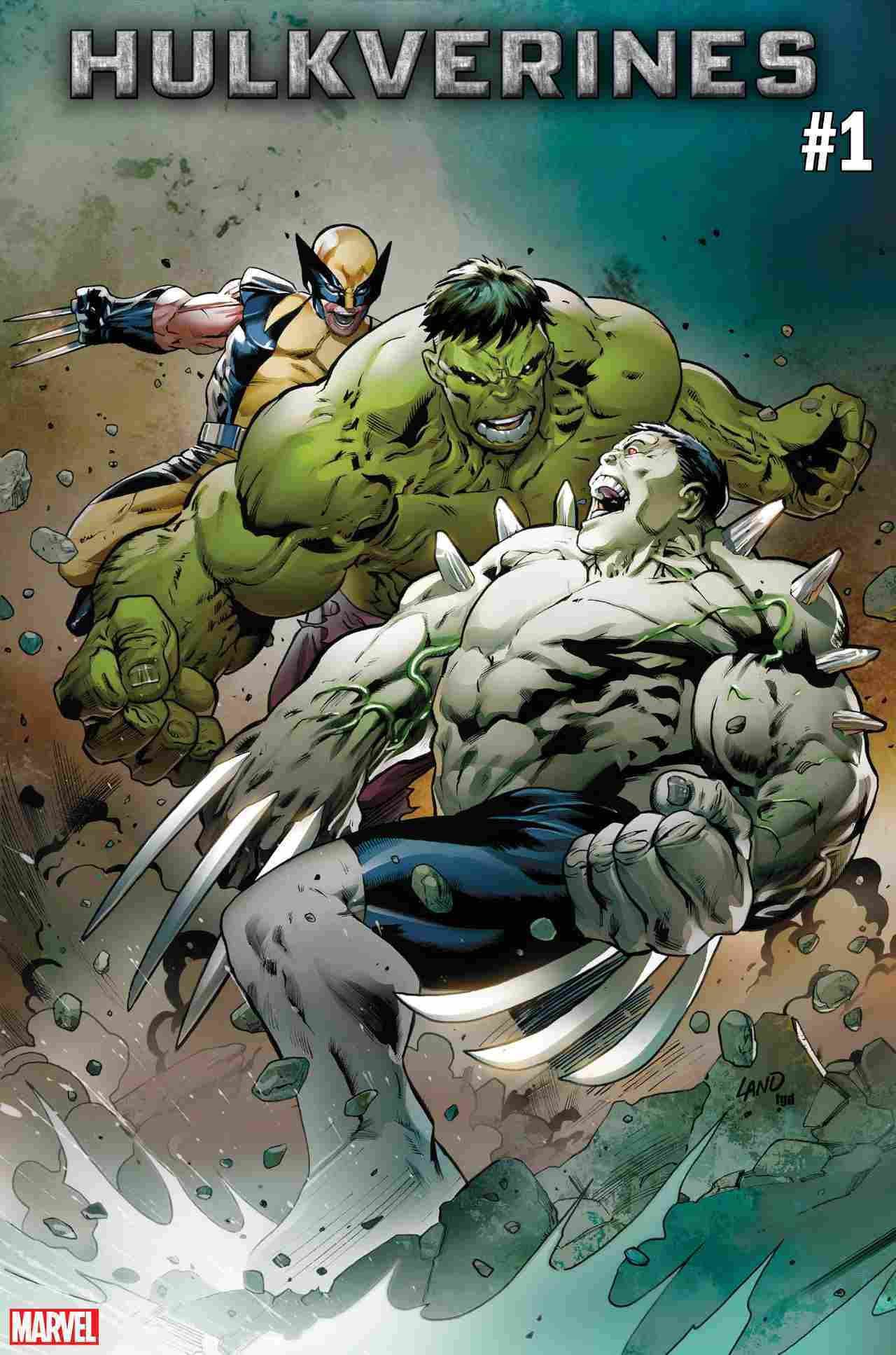 Marvel Announces Wolverine and Hulk Team-Up 'Hulkverines'