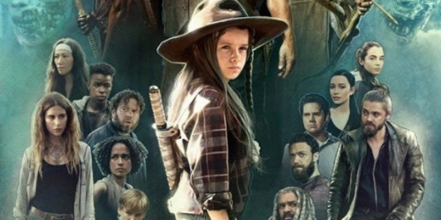 judith grimes walking dead art