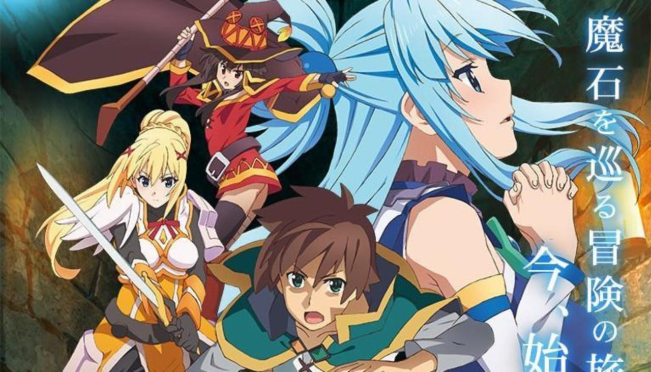 Konosuba Announces New Dungeon RPG For PS4