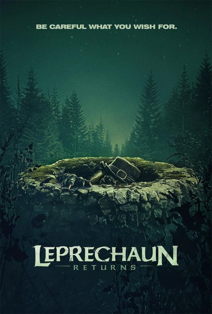 leprechaun returns movie poster 2018