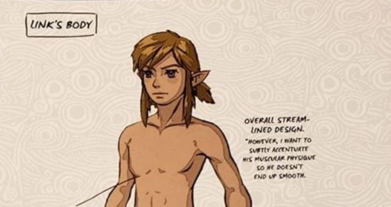 Official Legend Of Zelda Creating A Champion Art Book