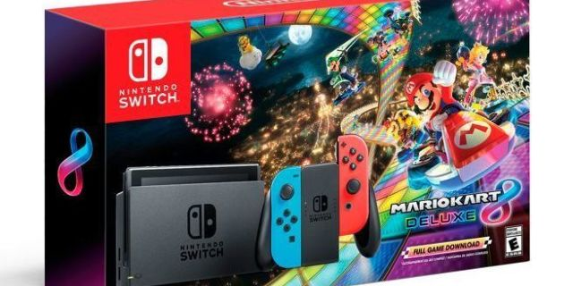 the black friday nintendo switch 39 mario kart 8 deluxe 39 bundle is in stock. Black Bedroom Furniture Sets. Home Design Ideas