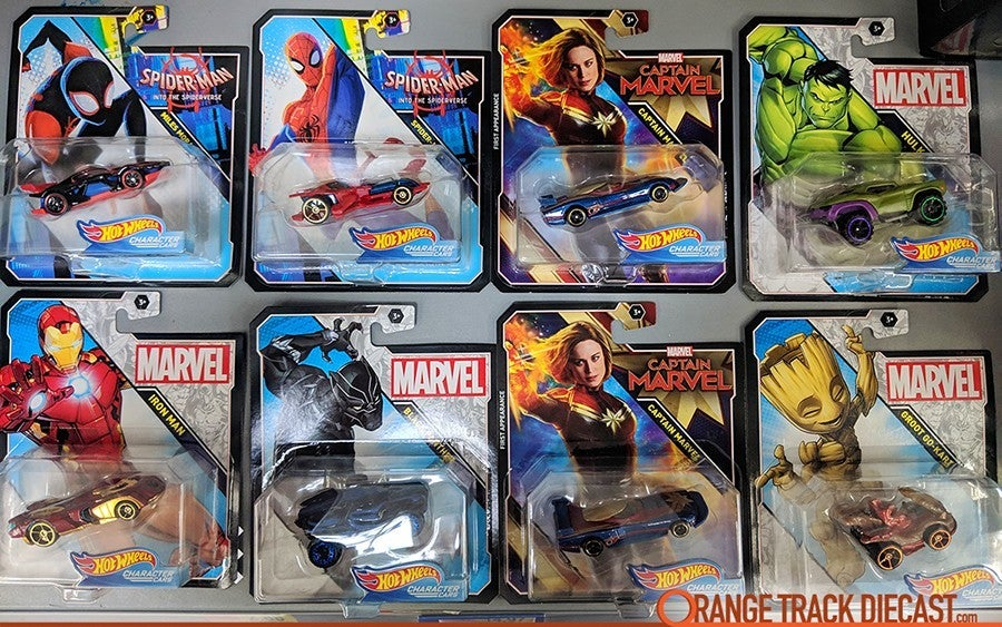Marvel-Character-Hot-Wheels-Captain-Marvel