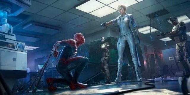 New 'Marvel's Spider-Man' Concept Art Revealed