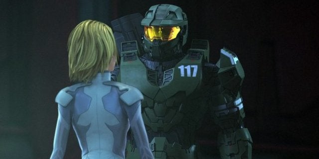 Master Chief Dr Halsey Halo TV Series Showtime