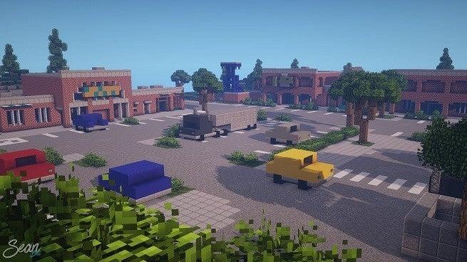 Minecraft Fortnite