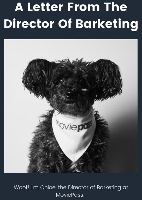 moviepass director of barketing