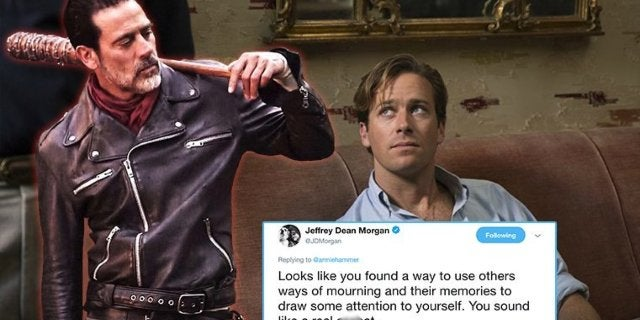 Jeffrey Dean Morgan Buries Armie Hammer For Criticizing Stan Lee Tributes