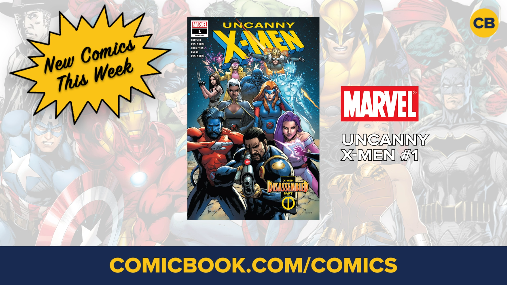 NEW Marvel, DC and Image Comics Out This Week: November 7, 2018 02:08     Comicbook NEW Marvel, DC and Image Comics Out This Week: November 14, 2018 screen capture
