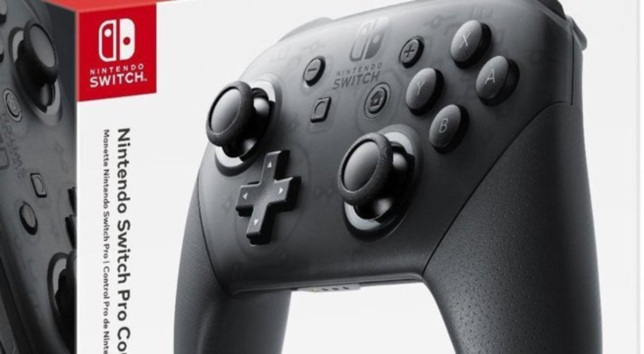 The Black Friday Deal On Nintendo Switch Pro Controller Is Live Grey Bundle 2game 2amiibo