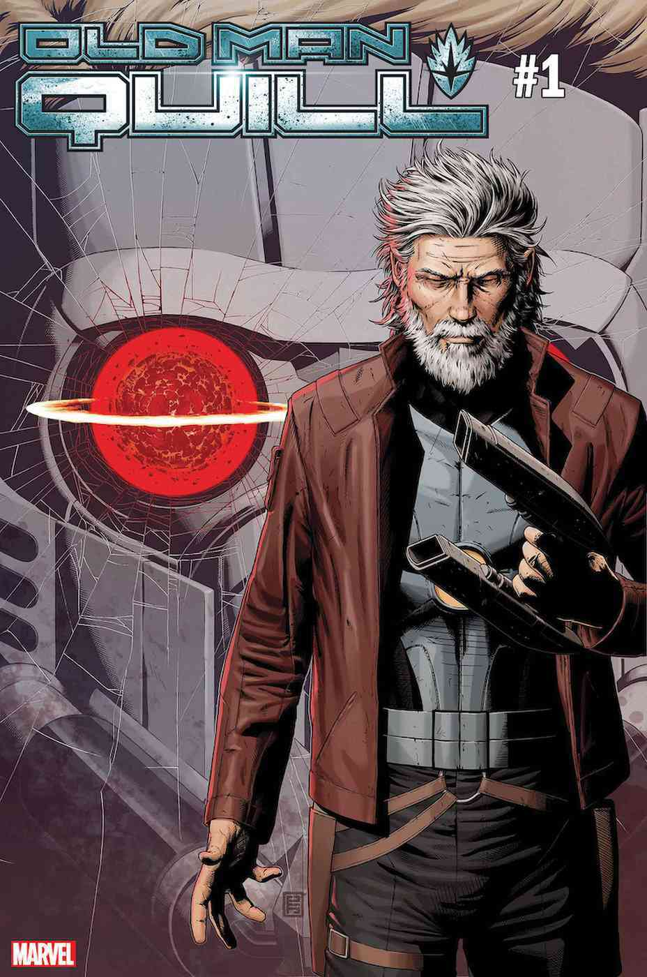 Marvel Releases First Cover for 'Old Man Quill'