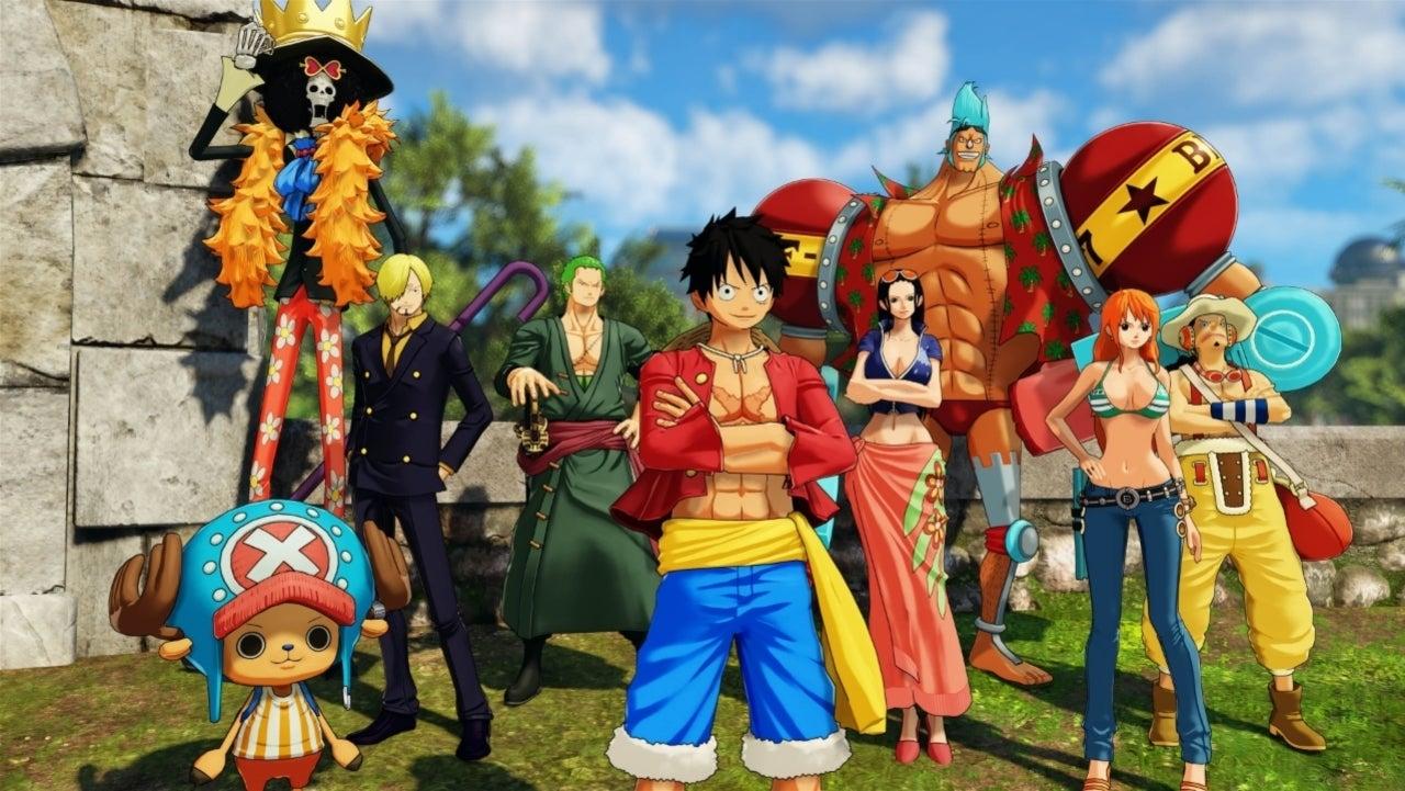 'One Piece: World Seeker manga video games