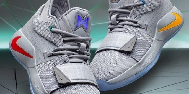 new style 7bbf3 07199 Here's How to Get Paul George's Nike PG-2.5 PlayStation Sneakers