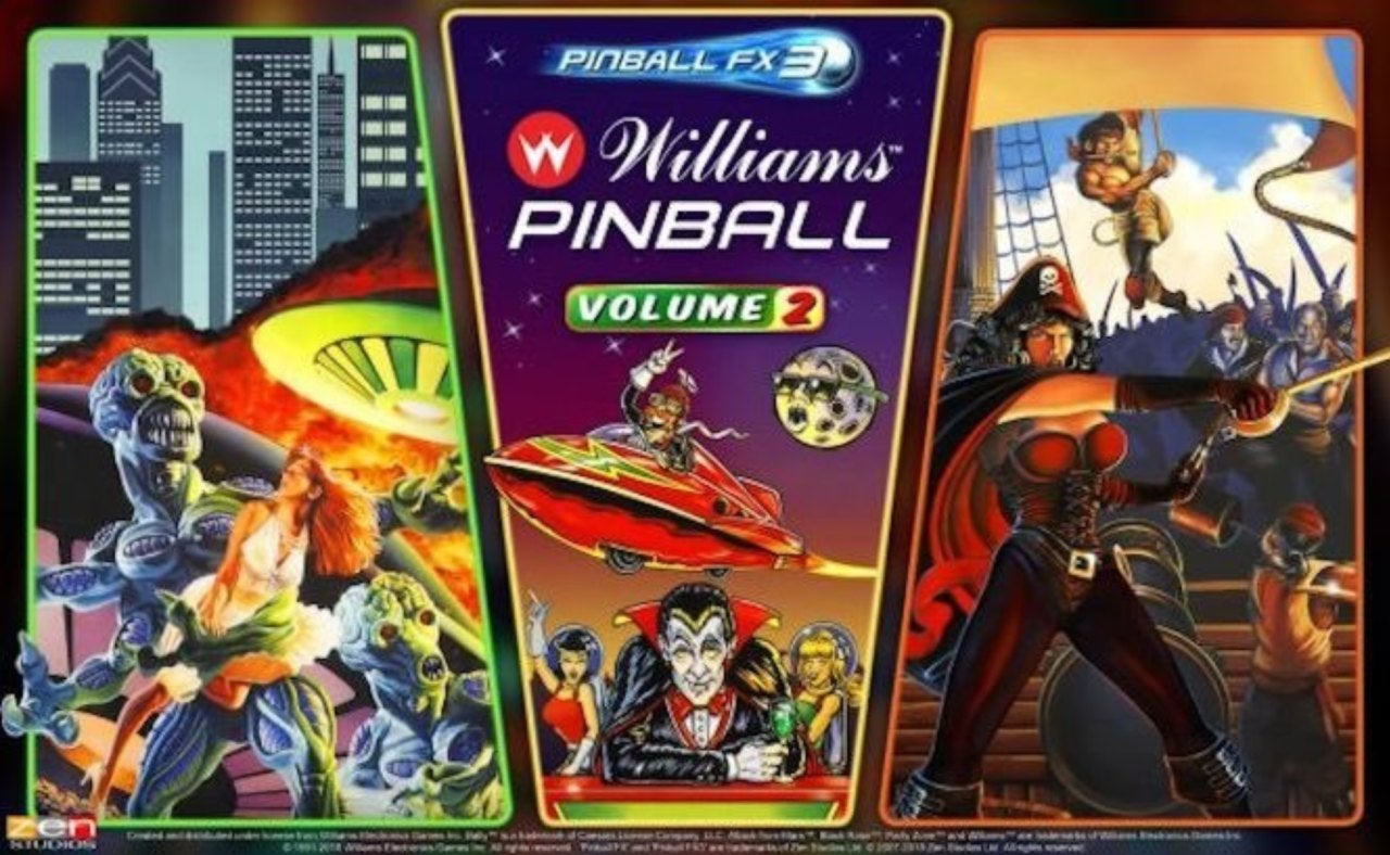Zen Studios Bringing More Williams Arcade Tables To 'Pinball