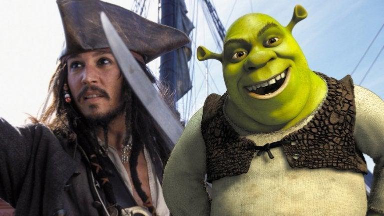 Pirates Shrek