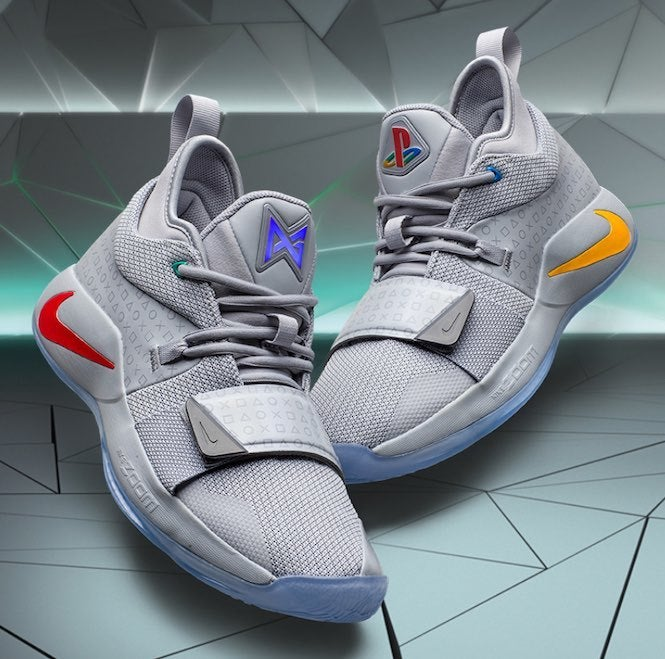 new style da25a cd875 Here's How to Get Paul George's Nike PG-2.5 PlayStation Sneakers