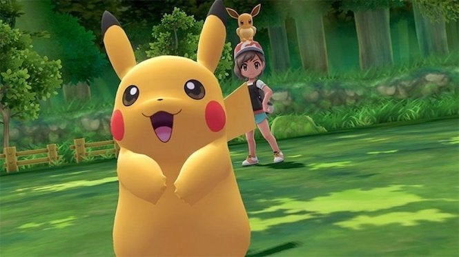 Pokemon: Let's Go Pikachu' and 'Eevee' Download Sizes Revealed For