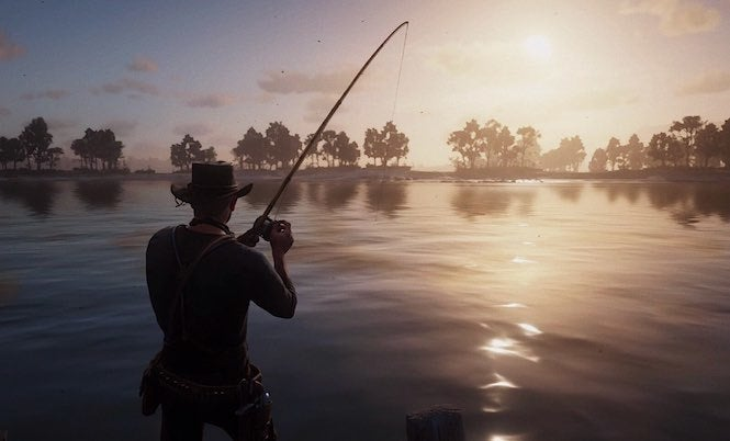 'Red Dead Redemption 2' Players Are Hooked On Fishing