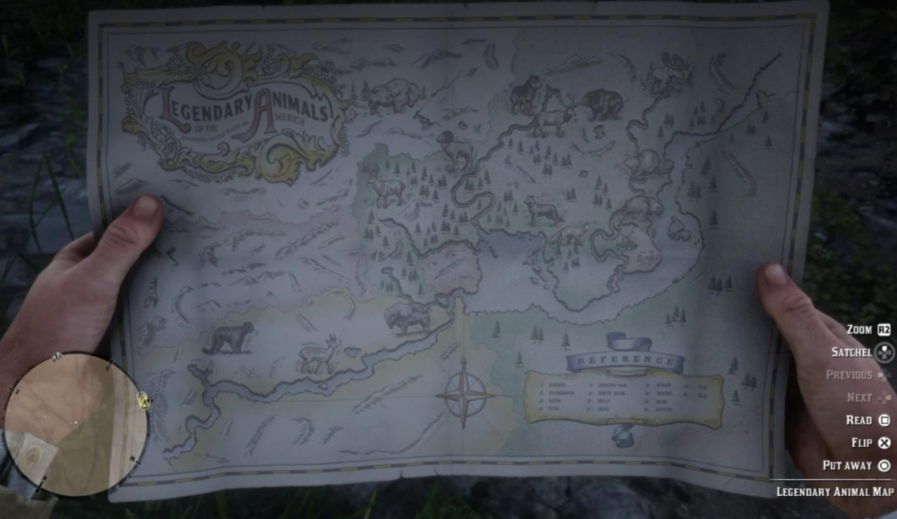 Red Dead Redemption 2' Interactive Map Helps With