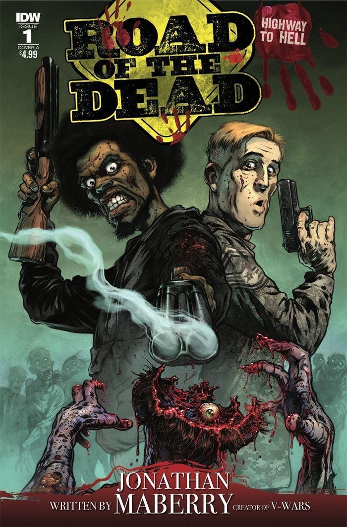 road of the dead comic book george romero