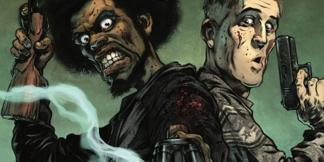 road of the dead comic book george romero header