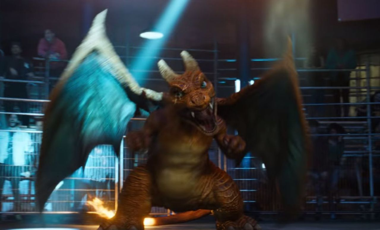 Detective Pikachu First Look At Charizard