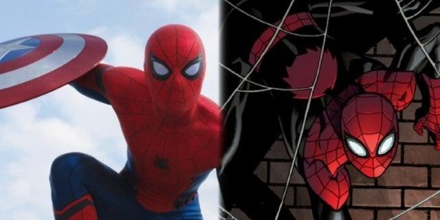 Spider-Man Civil War red black comicbookcom