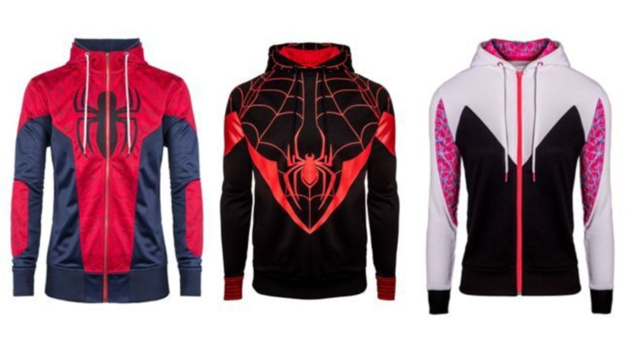 fbca5bc7 Get the Miles Morales Hoodie in Time For 'Spider-Man: Into the Spider-Verse'
