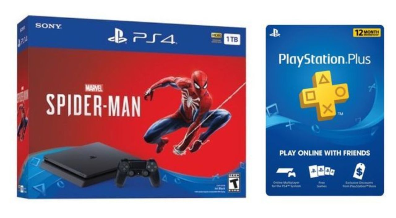 If You Got A Spider Man Ps4 Bundle You Ll Need This Playstation Plus Deal